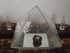 Diamond in pyramid
