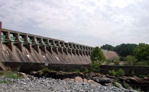 Sinclair Dam Normally
