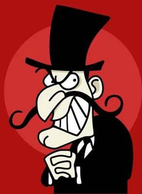 Evil bankers...