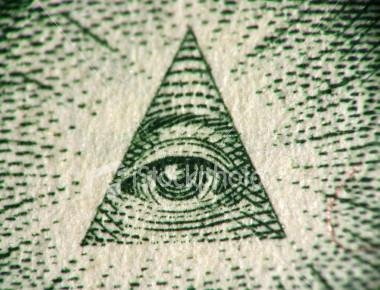 eye of the dollar bill