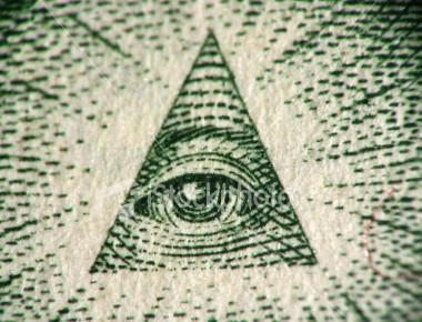 eye of the dollar bill