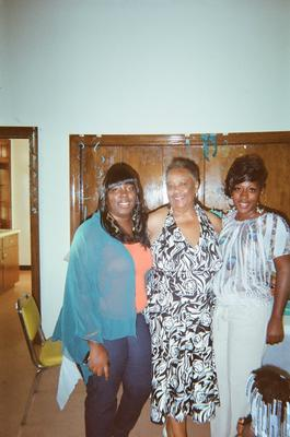 My administrative assistants at Millennium Second Chance Educational Center; L to R: Tori Addison, Me, Terinda Peoples