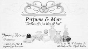 Jimmy Dixon, Perfume and More...