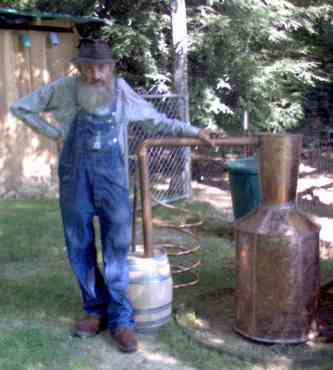 moonshine still man