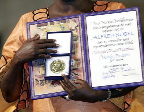 Wangari Maathai, NAIROBI, Kenya