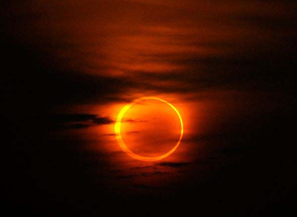 ring of fire over Africa and Asia