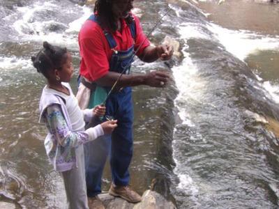1st fishing lesson