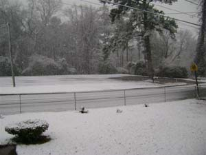 Snow Milledgeville