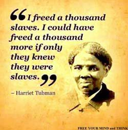 harriet ross tubman voices of slavery!
