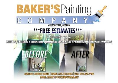 Make a Dream Come true by Contacting  Baker's Painting Company