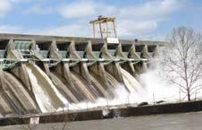 Lake Sinclair Dam 032809