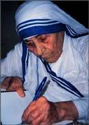 Mother Teresa Indian hero
