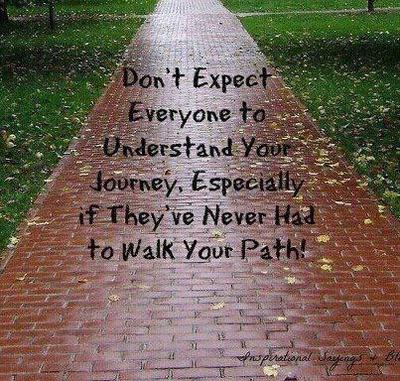 The road may not be easy....